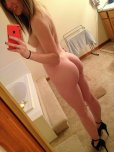 amateur photo Showing off that cute little ass in heels