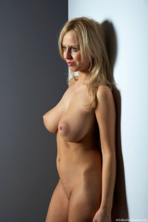 amateur photo Blonde and Busty
