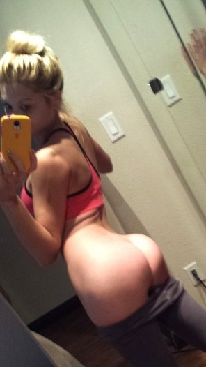 amateur photo The ass of champions