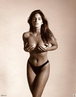 amateur photo Cindy Crawford