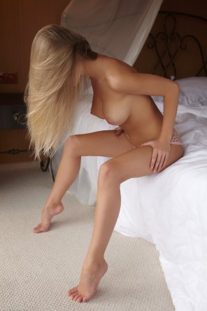 amateur photo Flawless blonde