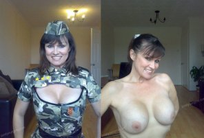 amateur photo Military Milf