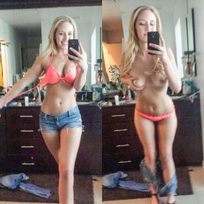 amateur photo Selfie On/Off