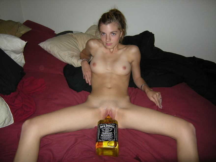 Which of you will want to drink from the bottle? Porn Photo