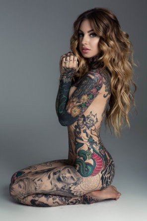 amateur photo Body tattoo