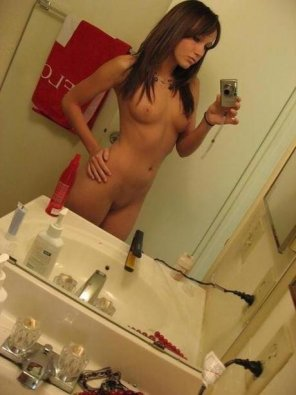 amateur photo Man! She has a nice tight little body.