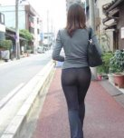 amateur photo Yoga pants.
