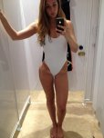 amateur photo White swimsuit