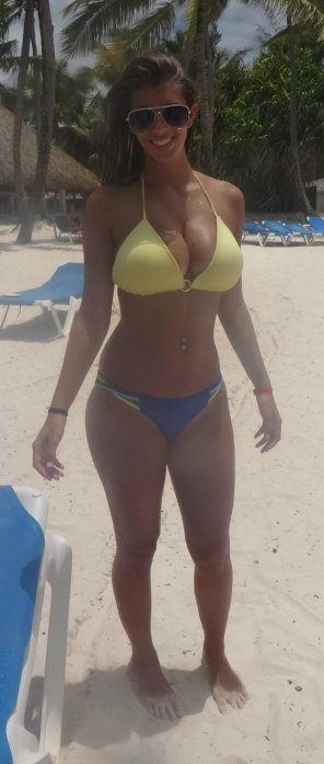 amateur photo Bikini bad