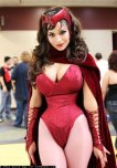 amateur photo Scarlett Witch Cosplay