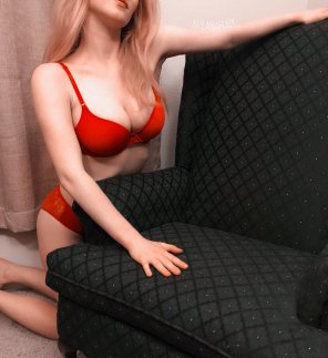 amateur photo Ex-boyfriend gave me this chair, would you help me get it messy?