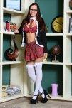 amateur photo Classic schoolgirl