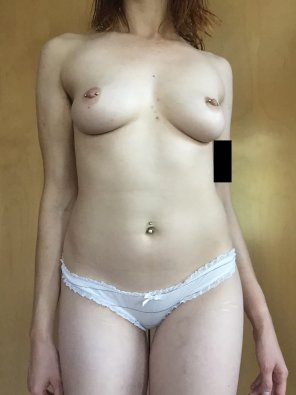 amateur photo I have a bra that matches these panties, but topless looks even better [f] [oc]