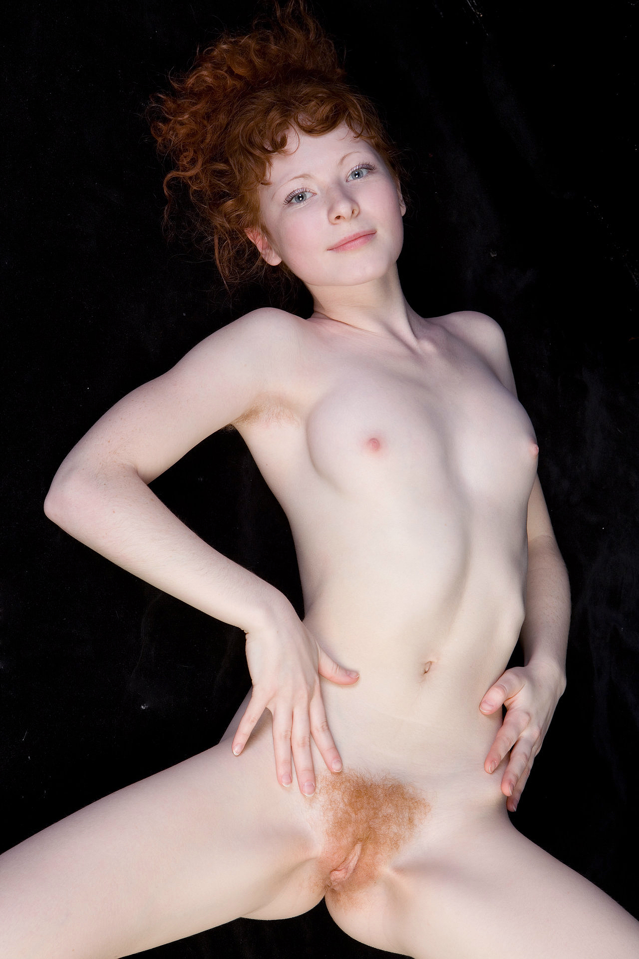 nude red headed women