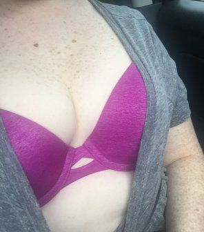 amateur photo [F] In the car at a stoplight. Should I do more?