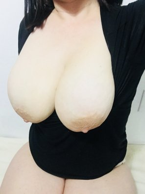 amateur photo My boobs seem to be a little bit too big!