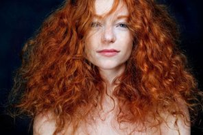 amateur photo Red and curly