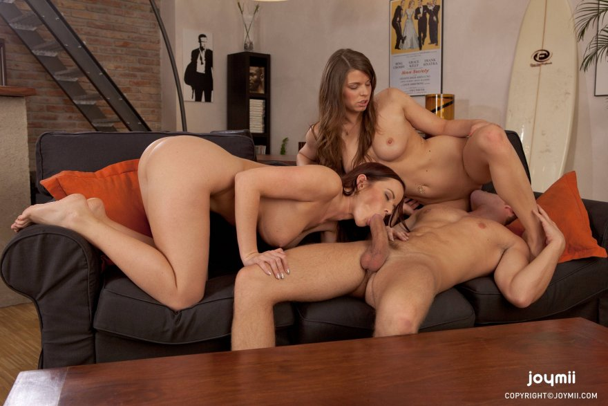 Threesome Porn Photo