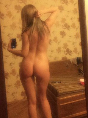 amateur photo Original ContentBack view [f]rom the mirror