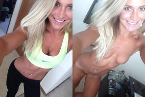 amateur photo Athletic Blonde