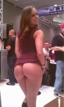 amateur photo Remy in public