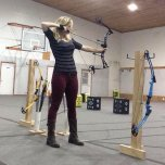amateur photo Hourglass Archery