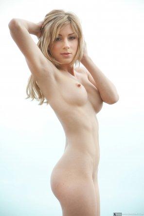 amateur photo Tiny nipples.