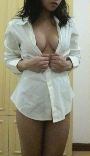 amateur photo I love button ups!