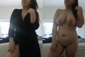 amateur photo Morning robe on/off 💕💕 [F23]