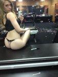 amateur photo Kagney Linn Karter selfie
