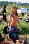amateur photo Lovely Hippie Girl
