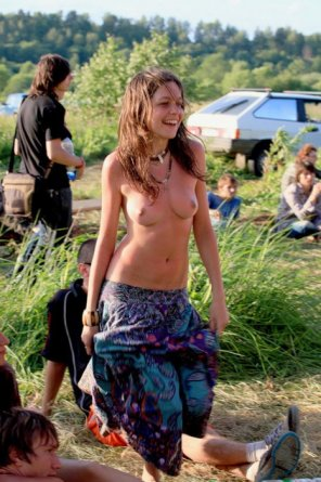 amateur photo Lovely Hippie Girl