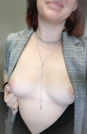 amateur photo All dressed up [f]or my meetings today.