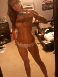 amateur photo Grainy, but still hot