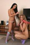 amateur photo Irina and her friend