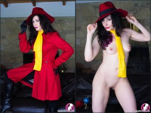 amateur photo [Carmen Sandiego]