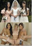 amateur photo Bride and bridesmaids