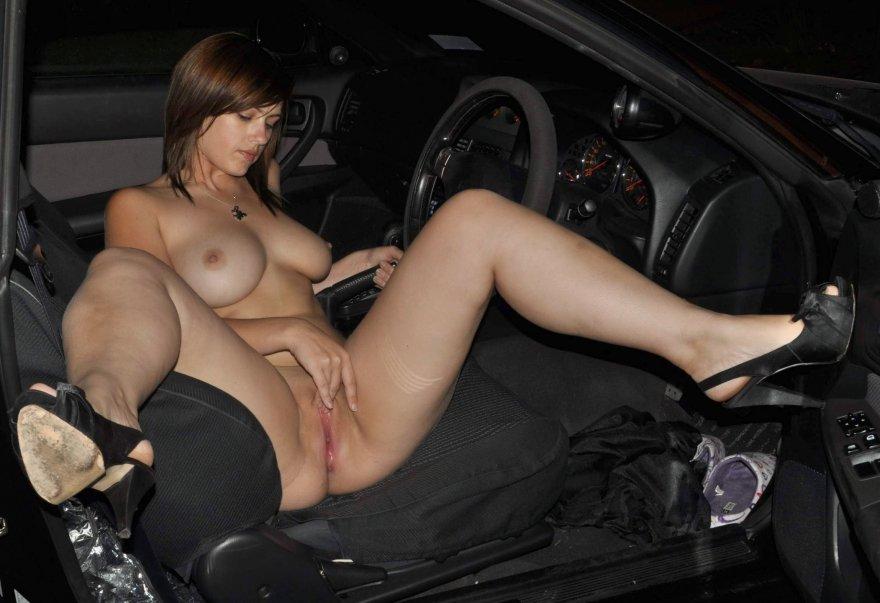 Fun in the car Porn Photo