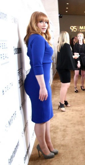 amateur photo Bryce Dallas Howard got dem cheeks up on her