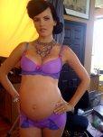 amateur photo Purple underwear