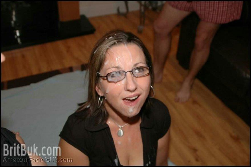 Glazed glasses Porn Photo