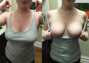 amateur photo Enjoy my [f]irst on/off