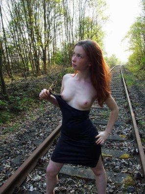 amateur photo On the tracks