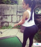 amateur photo Mini golf big booty