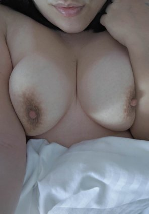 amateur photo Come join me under the sheets?