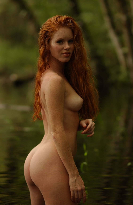 Pale White Redhead Teen