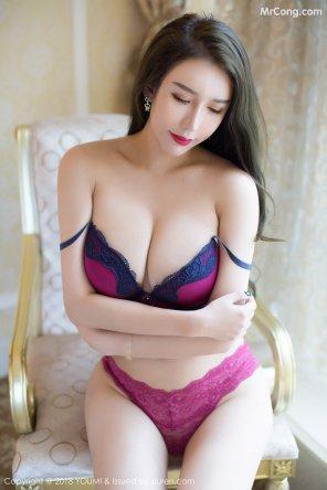 amateur photo Purple Lingerie