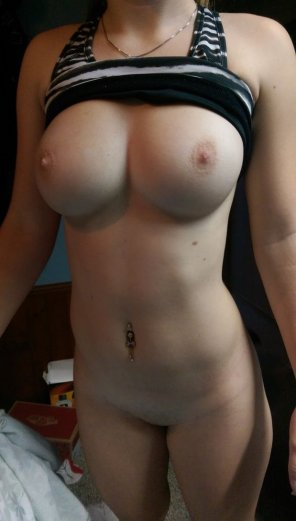 amateur photo How would you rate those boobs on 10?