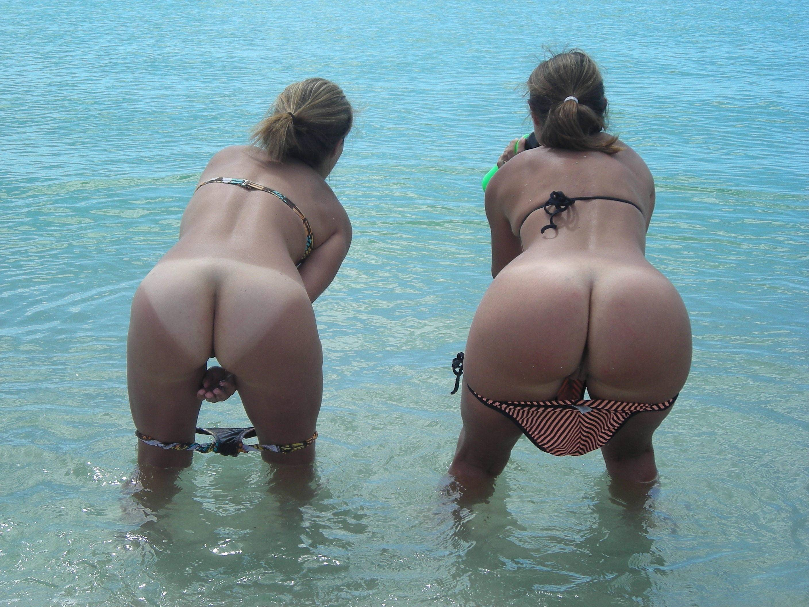 Naked young womens butts 1