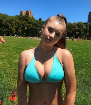 amateur photo such a lovely pair of tits